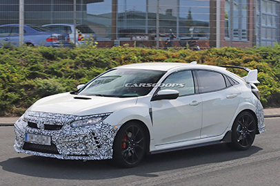 Is the Civic Type R getting a new facelift soon?