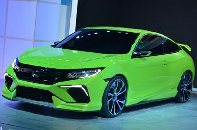 2016 Honda Civic set to debut in September