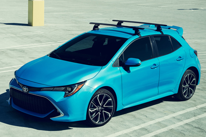 Toyota comes up with a fresh new design for the Corolla, aimed at youth