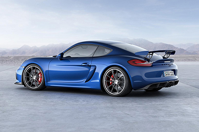 An even more hardcore Porsche Cayman GT4 to come