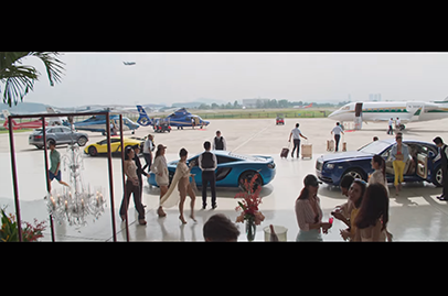 What is a movie about Crazy Rich Asians without the cars?