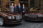 Bentley delivers new Flying Spurs to St Regis Singapore