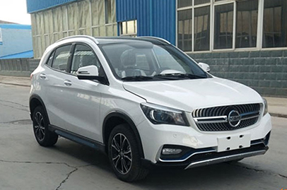 Mercedes-Benz GLA clone spotted in China