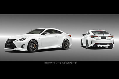 TRD parts now available for RC F buyers