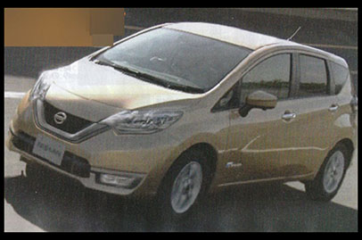Nissan Note hybrid with range-extender leaked