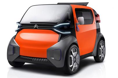 New Citroen AMI ONE concept revives the spirit of the 2CV