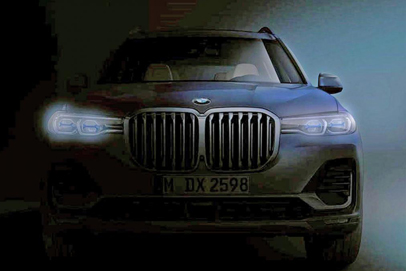 New BMW X7 flagship teased ahead of official reveal