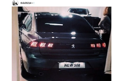 Is this the new Peugeot 508 sedan?