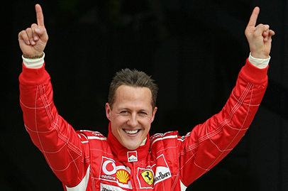 Michael Schumacher still not able to walk on his own