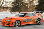 Toyota Supra from �The Fast And The Furious� heads to auction