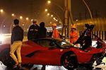 Another Ferrari LaFerrari goes down