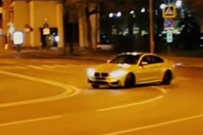 Russian owner shows off what he can do with his BMW M4