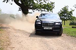 Ever seen a Rolls-Royce Wraith dancing around a garden?