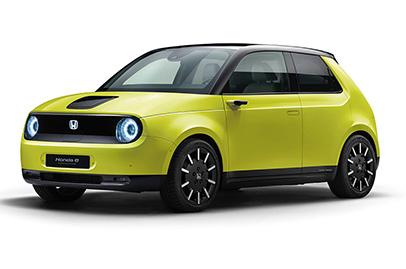 More details of the Honda e released