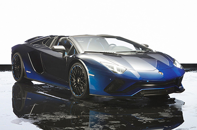 Japan gets special edition Aventador S Roadsters