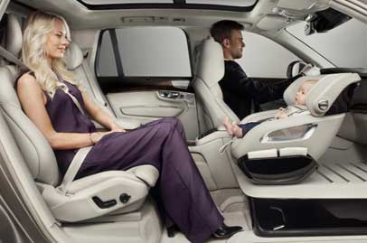 Volvo spoils your kid with XC90 Child Seat Concept