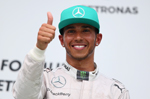 Lewis Hamilton signs another three years with Mercedes