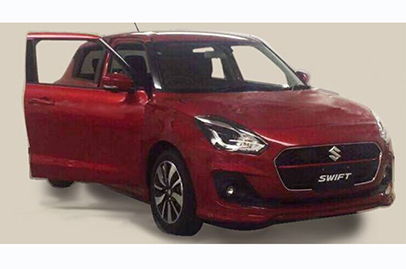 Next generation Suzuki Swift shown in leaked photo