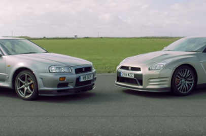 How much faster is the R35 GT-R compared to its predecessor?