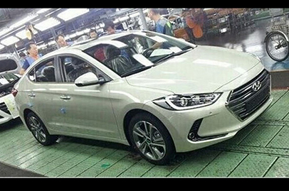 All new Hyundai Elantra photos leaked