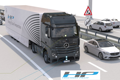 Production-ready Mercedes autonomous truck takes to the Autobahn