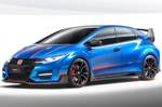 New Honda Civic Type R wings in for Paris Motor Show