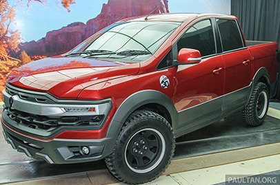 Proton shows off new concept pickup truck