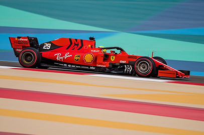 Mick Schumacher does well on track with Formula 1 car