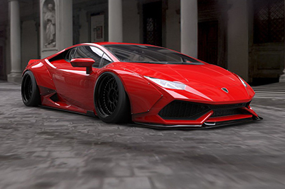 If you think your Huracan looks too bland, Liberty Walk can help