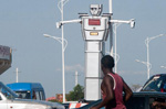 Congo uses robots to ease traffic congestion