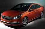 Hyundai unveils refined 2015 Sonata in New York