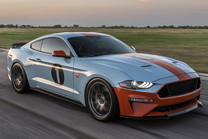 Ford dealer is U.S. offering a Mustang with Gulf livery (and 808 horsepower)