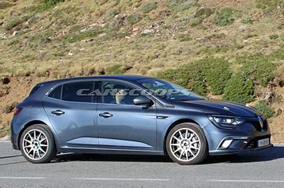 New Renault Megane RS spied
