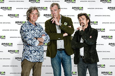 Ex-Top Gear trio to host new show on Amazon Prime