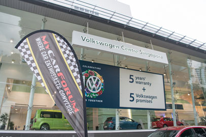 MCF Hangout with Volkswagen