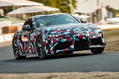 Toyota confirms Supra will get a four-cylinder engine