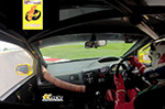 'Just another day at the office' for this racing driver (VIDEO)
