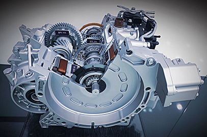Hyundai's new technology cuts a hybrid's gearchange timing by 30%