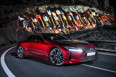 Lexus's LC500 sounds really good