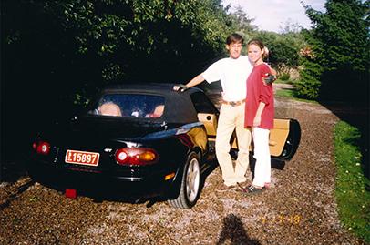 Christian von Koenigsegg buys back own Mazda MX-5