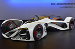 Chevrolet Chaparral 2X Vision Gran Turismo could only work in a video game