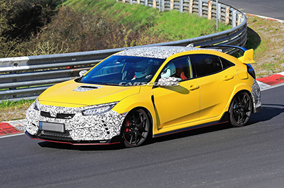 Possible new variant for Honda Civic Type R