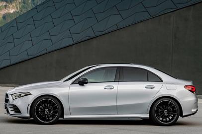 New Mercedes A Class Saloon