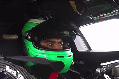 Porsche let's Chris Harris have a go in the 919 Hybrid