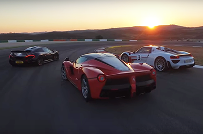 Chris Harris finally pulls off the hypercar battle we all want