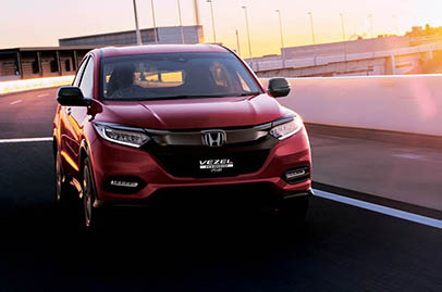 Honda Vezel gets mild facelift