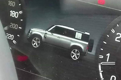This could be how the new Land Rover Defender looks like