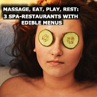 Spas add cuisine to their menus to become all-day destination draws