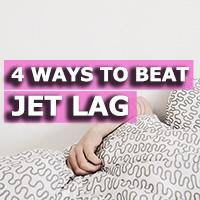 Four ways to beat jet lag - the bane of timezone-crossing frequent flyers