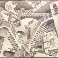 M.C. Escher's mind-twisting art at ArtScience Museum